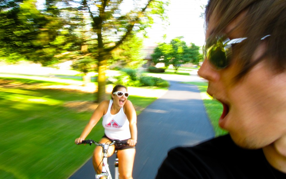 Jeff and Marla Sarris - Summer Bike