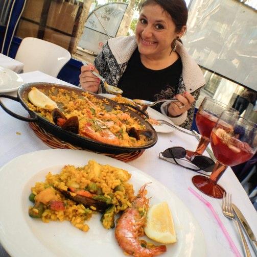 Els Maians Restaurant Barcelona Paella