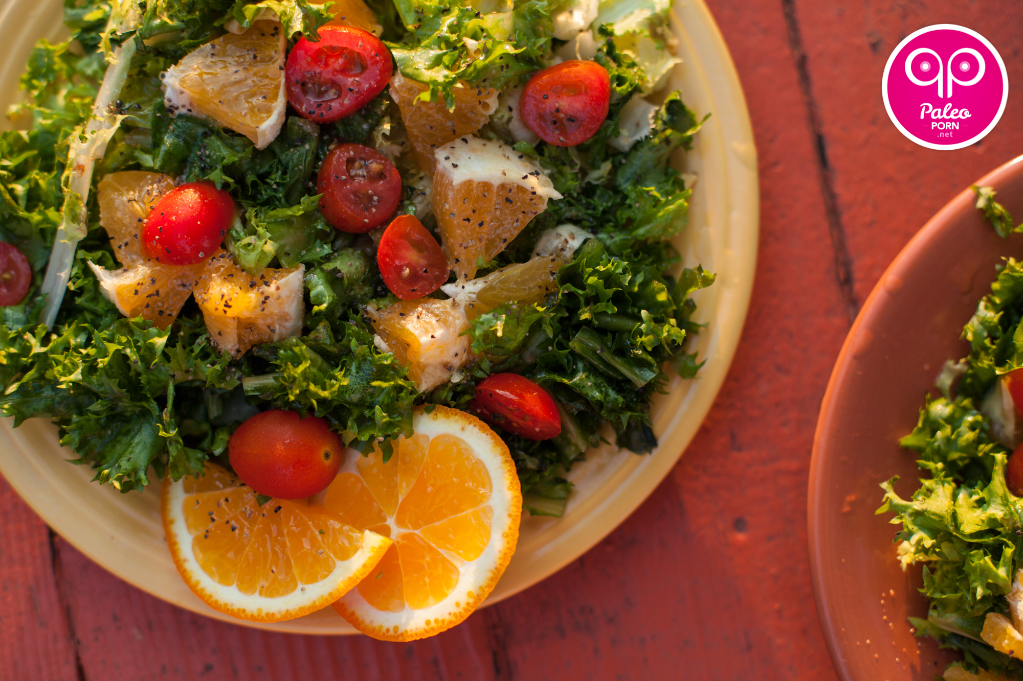 served this Orange Endive Salad as a side dish but you can double or ...