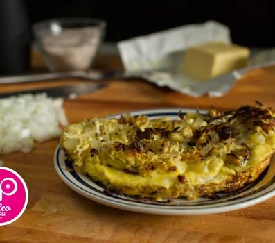 Paleo Onion Omelet