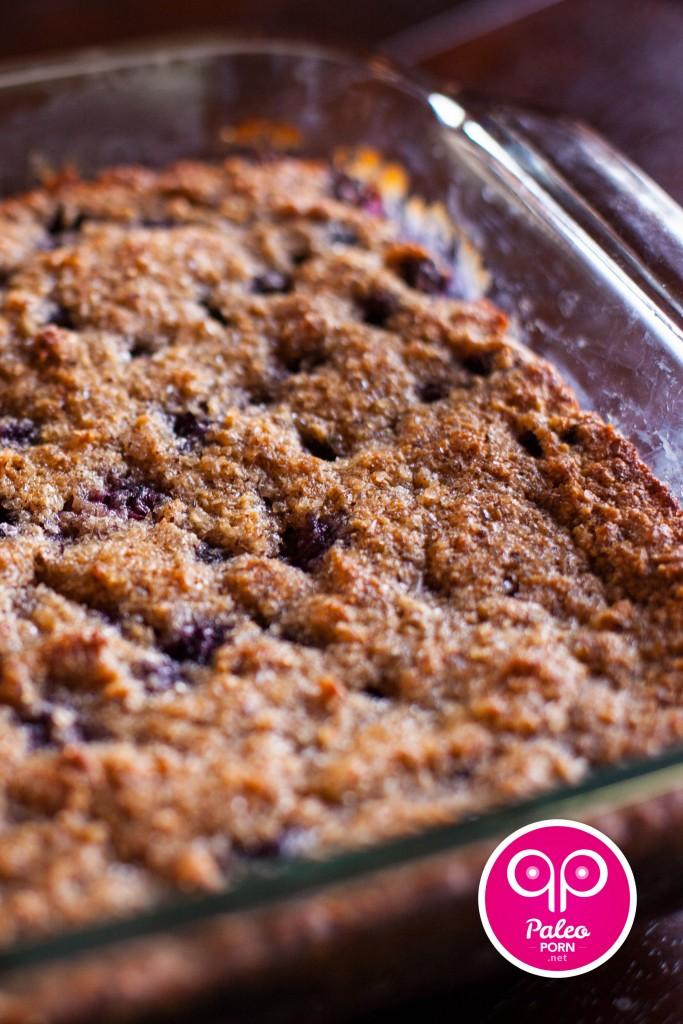 Primal Blueberry-Hazelnut Breakfast Cake Crumble
