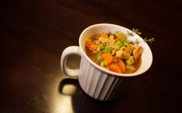 Cayenne Kicks Your Ass Chicken Soup