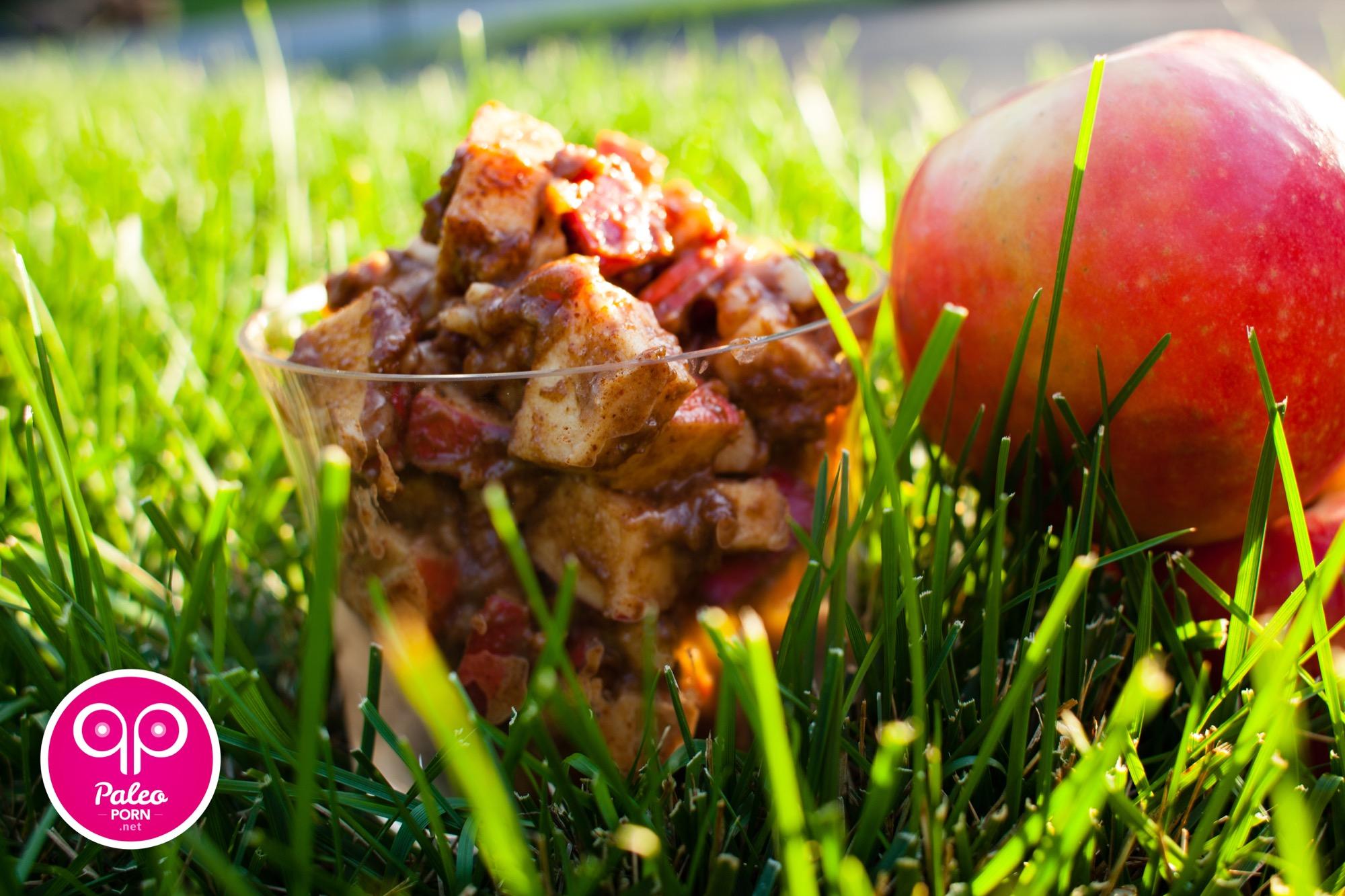 Apple Pie Porn paleo apple pie in a bowl