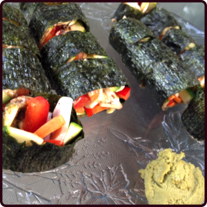 Vegetable Nori Maki Roll