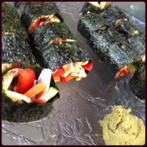 Vegetable Nori Maki Roll