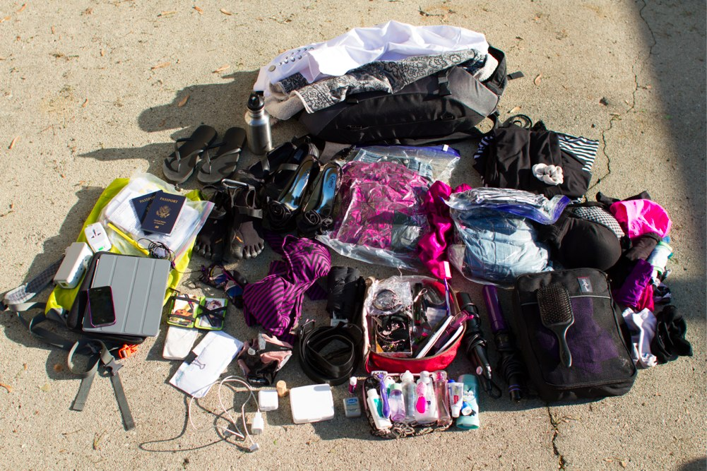 What To Pack for Vacation Travel Gear