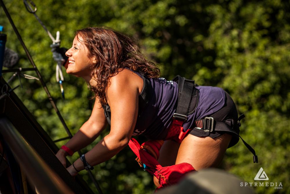 Marla Sarris Bungee Jumping Portland