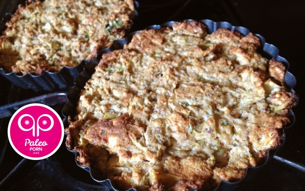 Zucchini Apple Paleo Muffin