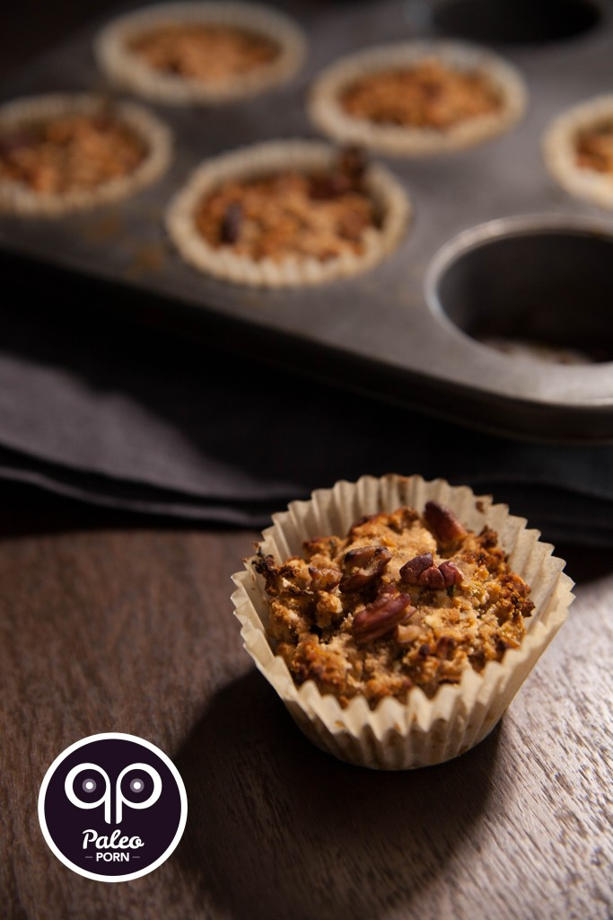 Paleo Zucchini Muffins with Apple