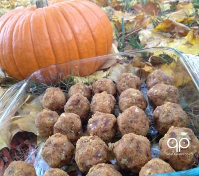 Paleo Raw Pumpkin Balls