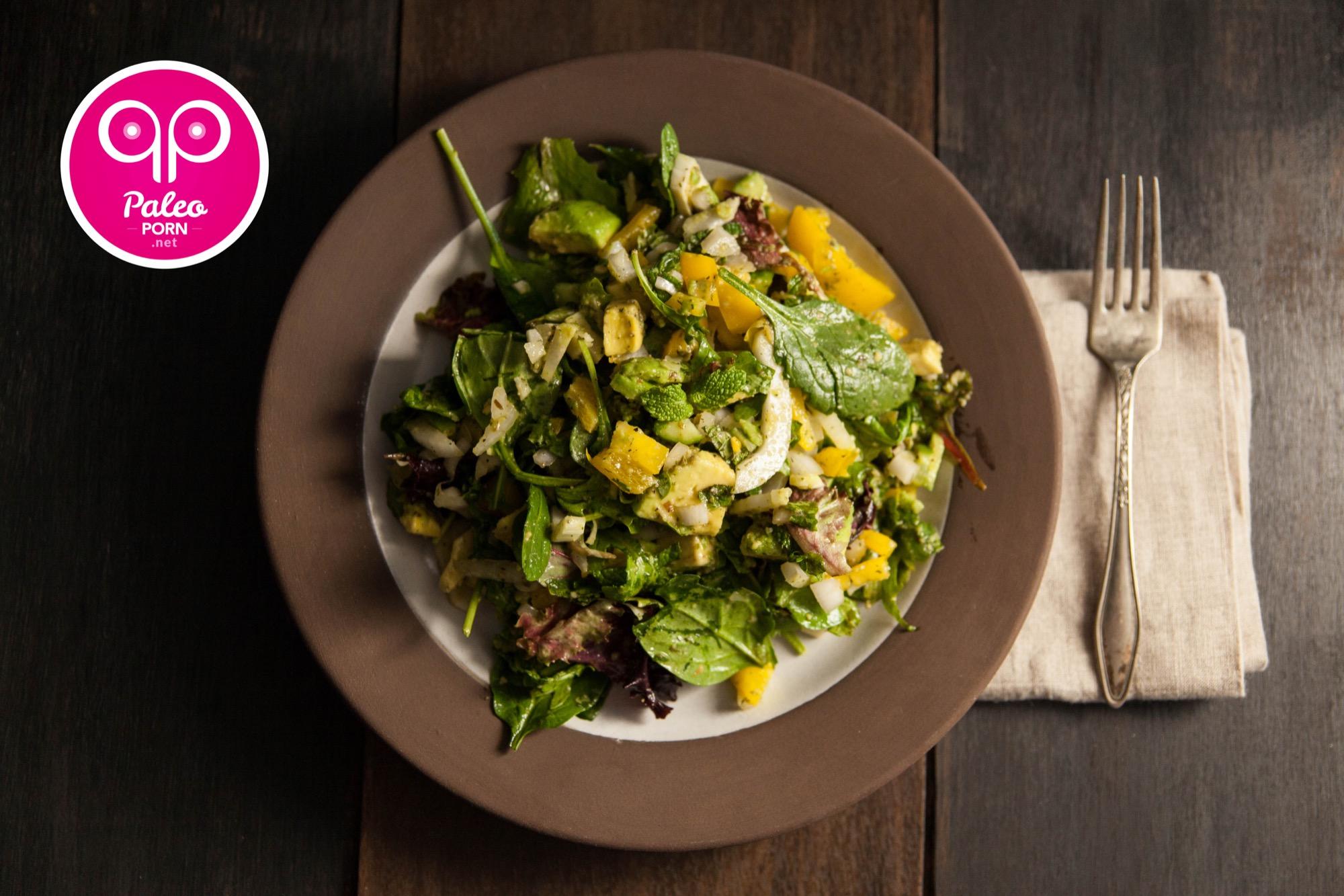Baby Kale Rocket Salad With Fennel Paleo Porn Steamy Paleo Recipes