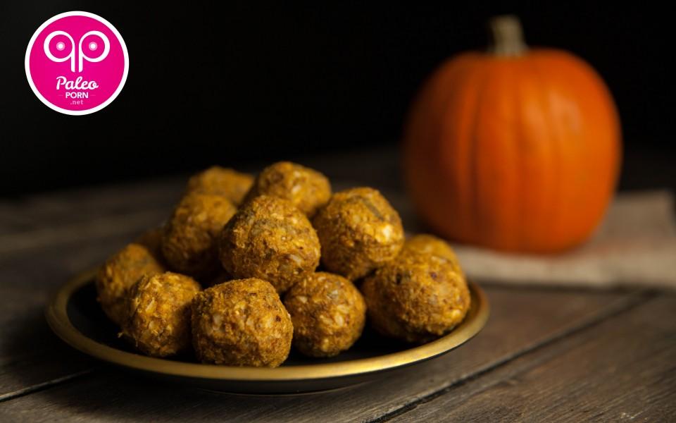 Paleo Recipe Raw Paleo Pumpkin Balls