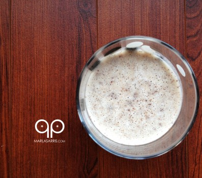 Paleo Cookies and Cream Smoothie