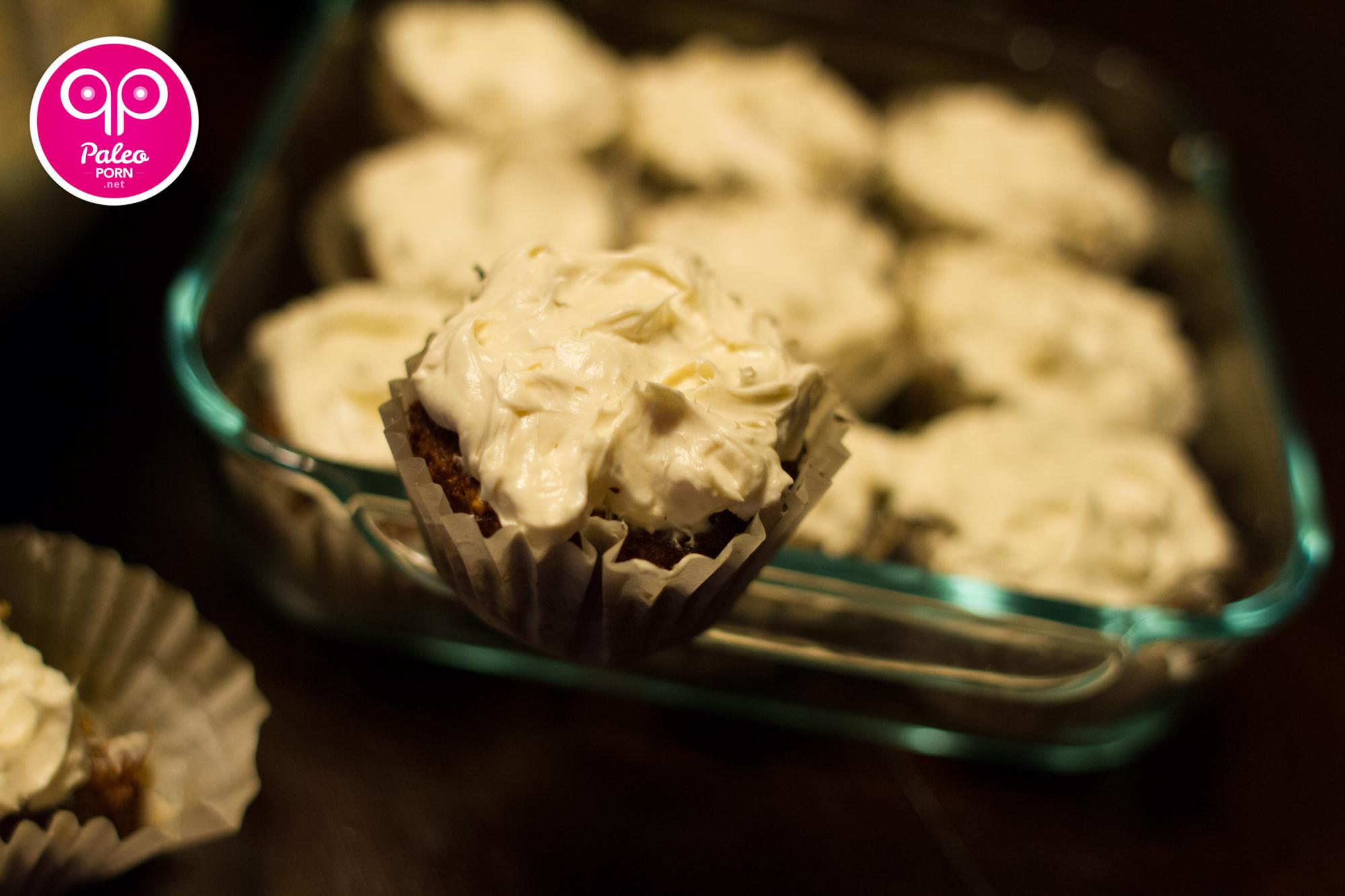 Primal Parsnip Cupcakes