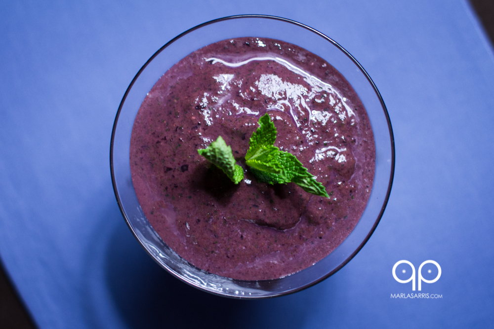 Banana Berry Paleo Smoothie