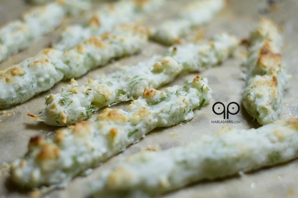 Garlic Dill Paleo Breadsticks