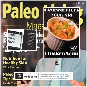Marla Sarris in Paleo Living Magazine