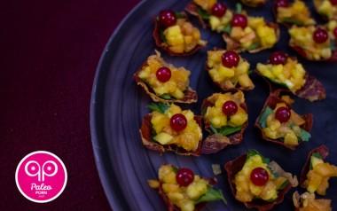 Paleo Recipe Crispy Prosciutto Fruit Cups