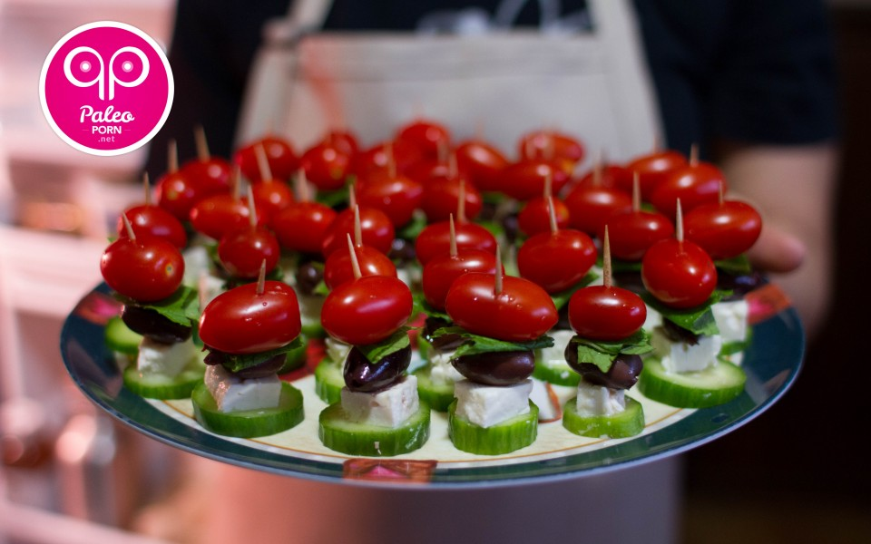 Paleo Recipe Paleo Greek Salad Skewers