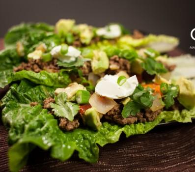 Romaine Beef Tacos