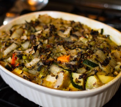 Root Vegetable Casserole