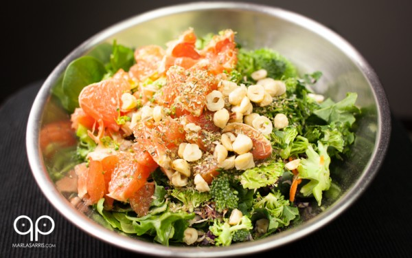 Winter Makes Me Bitter Salad