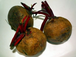 beetroot-on-plate