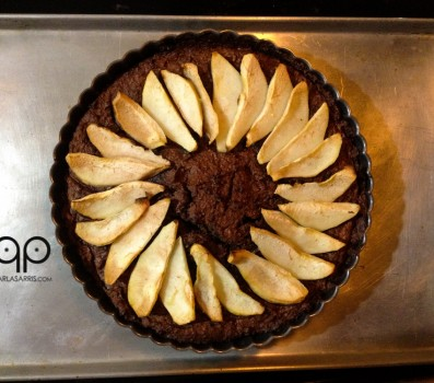 Chocolate Pear Tart copy