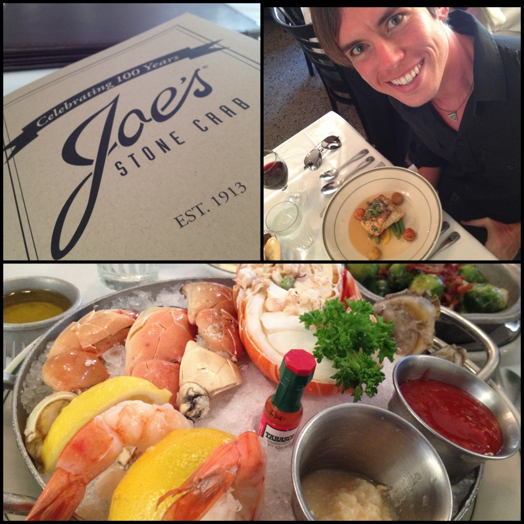 Jeff Sarris Joe's Stone Crab Miami