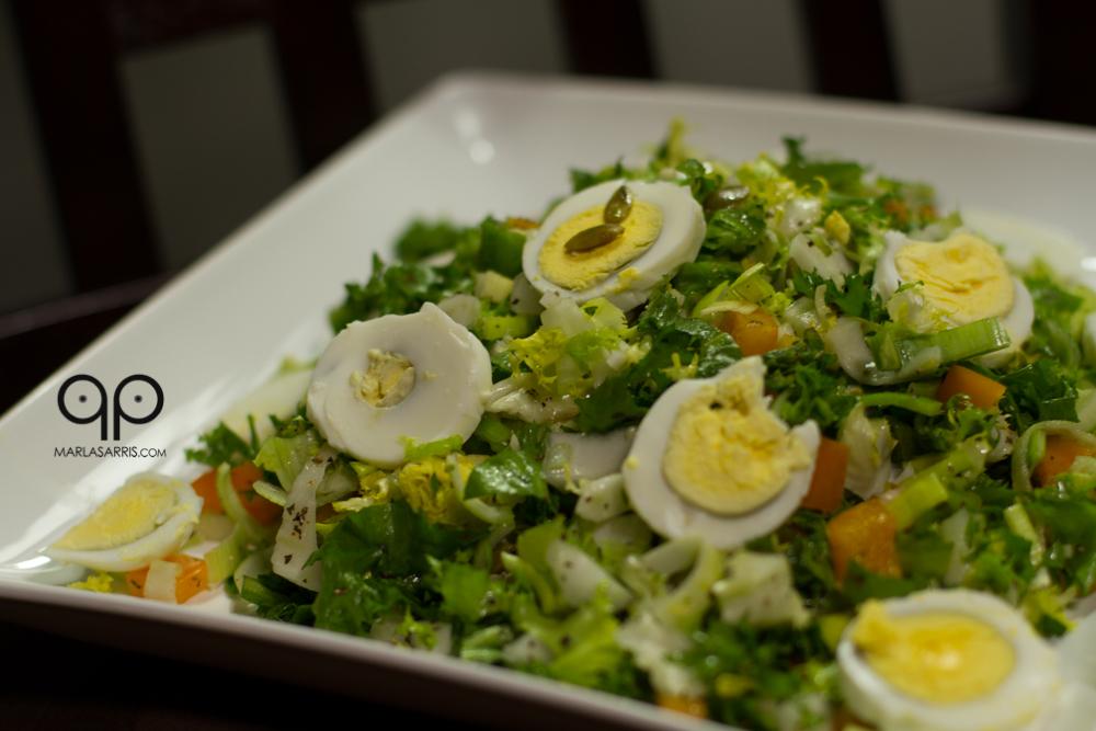 Paleo Endive Chipotle Salad