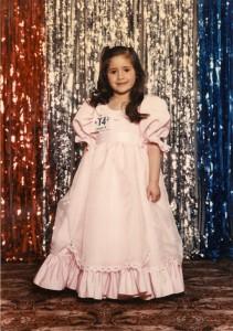 Marla Sarris - Junior Miss America pageant