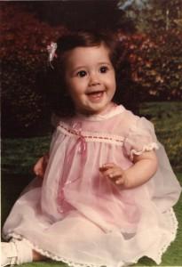 Marla Sarris - baby model