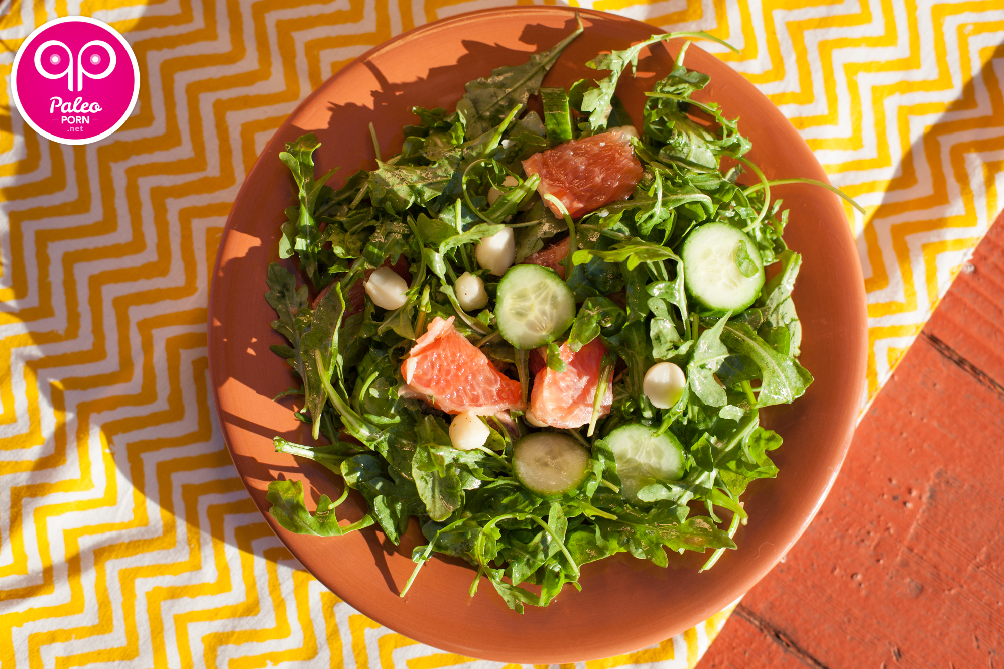Rocket Grapefruit Salad