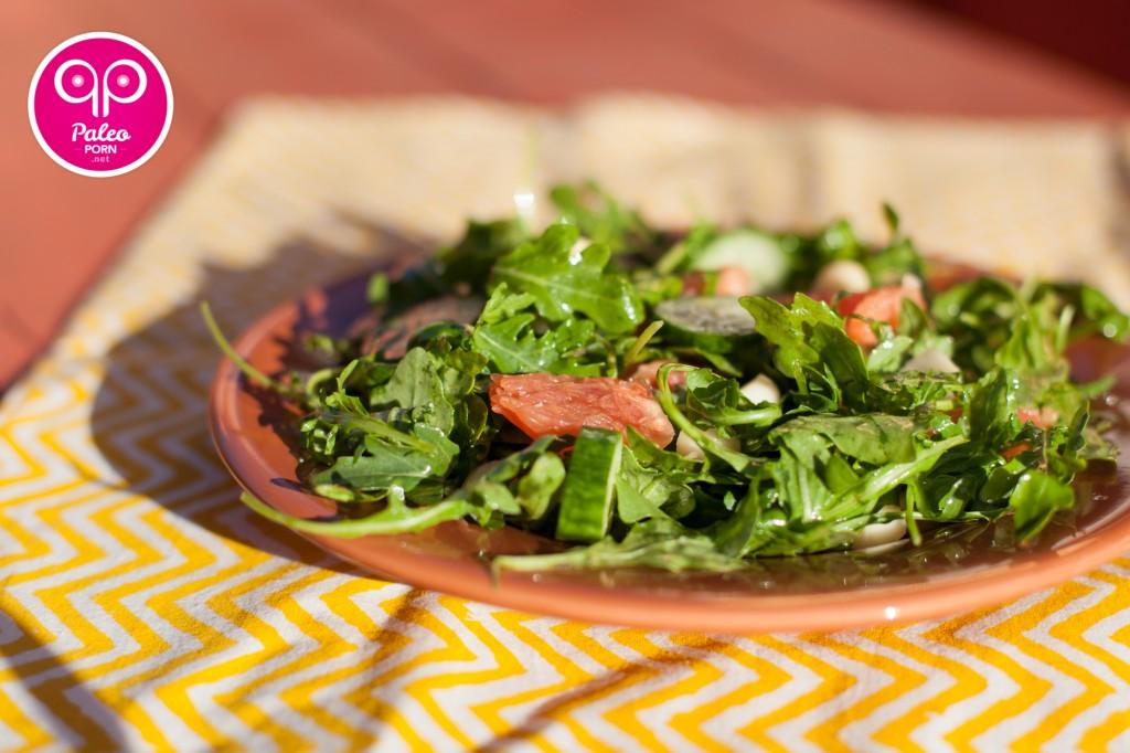 Rocket Grapefruit Salad