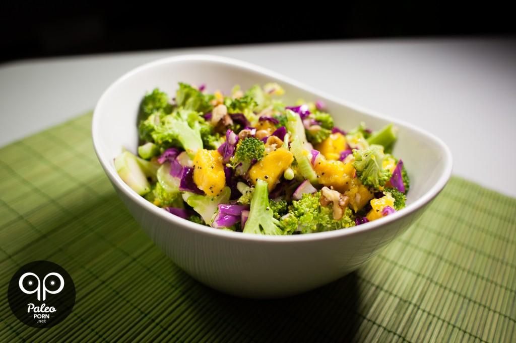 Broccoli Mango Salad