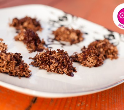 Paleo Chocolate Coconut Haystacks
