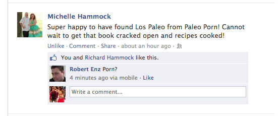 Los Paleo on Facebook