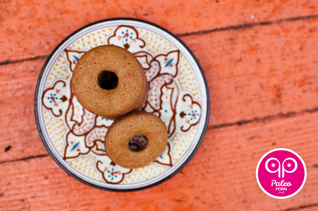 Maple Cinnamon Paleo Donuts