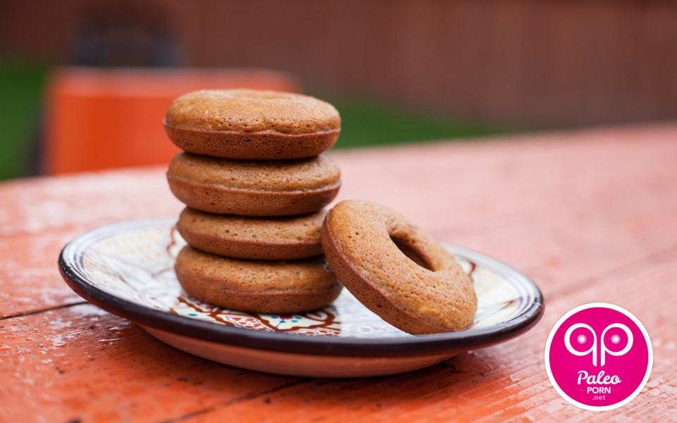Maple Cinnamon Paleo Donuts