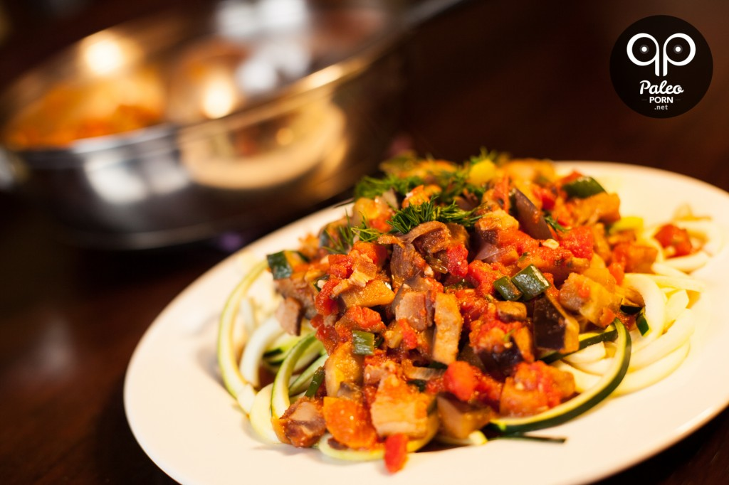 Paleo Zucchini Pasta