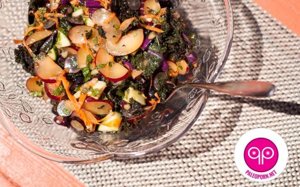 Tastes Like Purple Plum Salad
