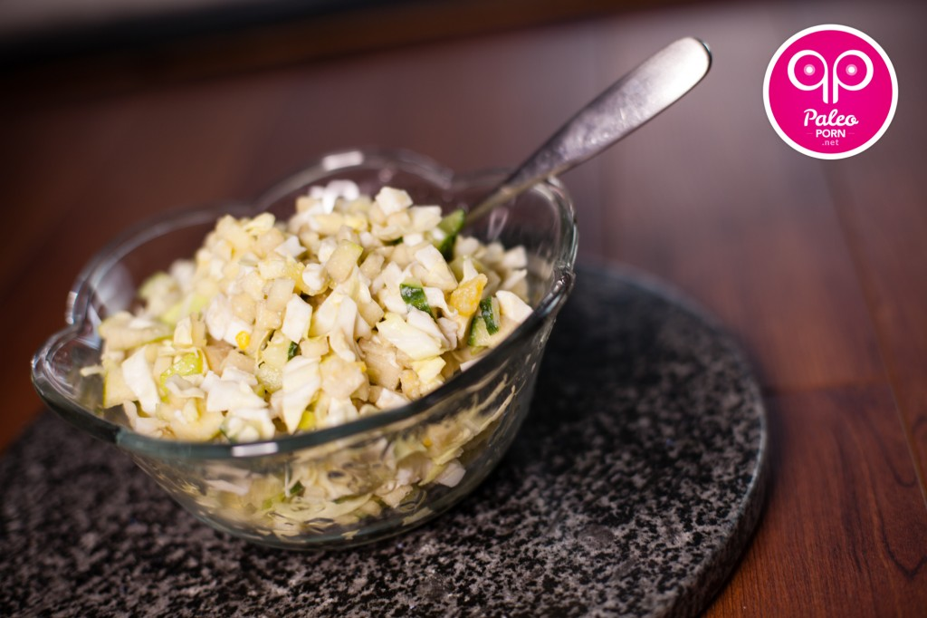 Green Cabbage Salad