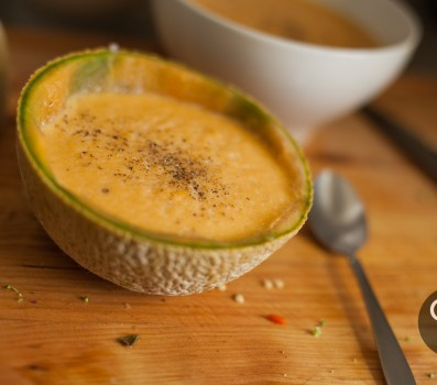 Paleo Cantaloupe Soup