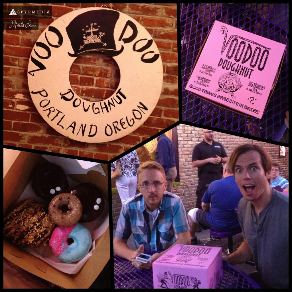 SPYR at VooDoo Doughnuts