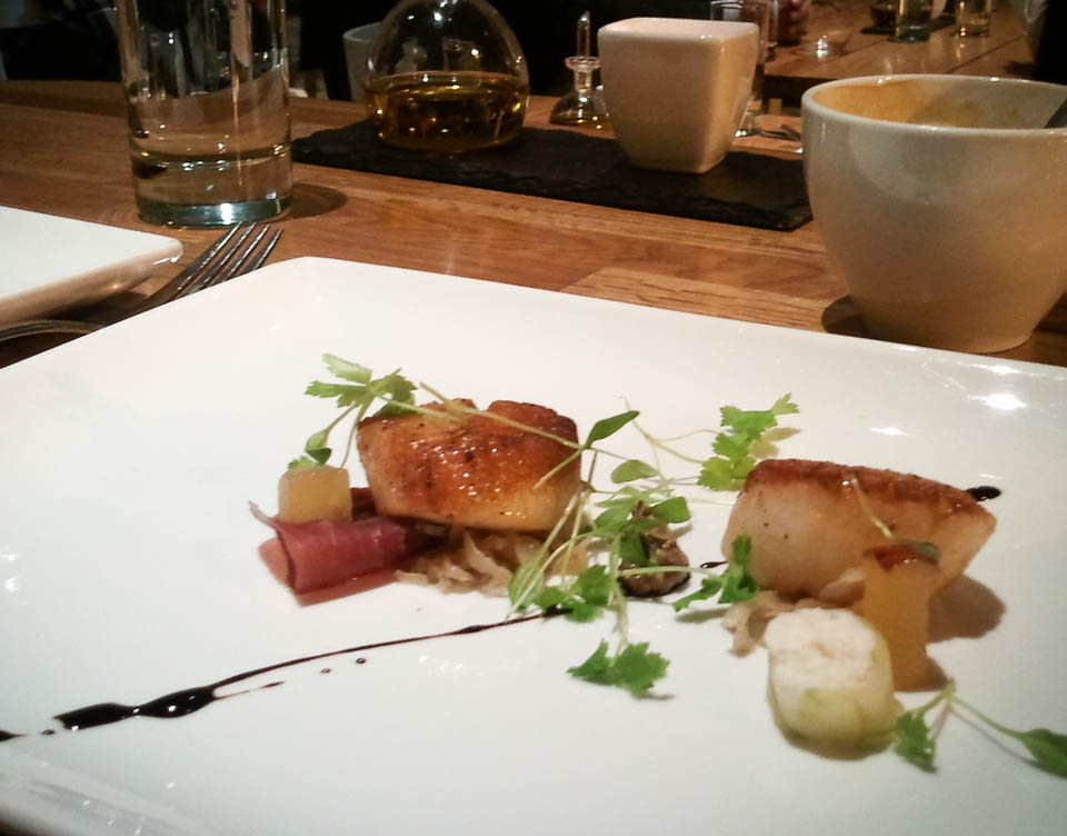 Senza Review: Scallops