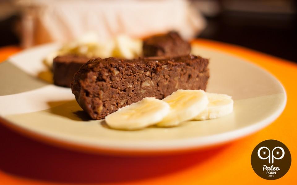 Paleo Chocolate Banana Bread