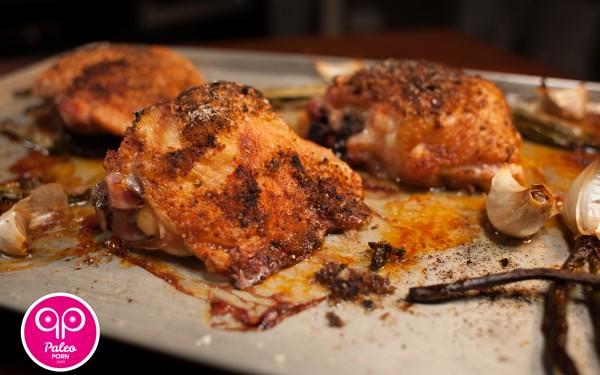 Chipotle Paleo Chicken Thighs
