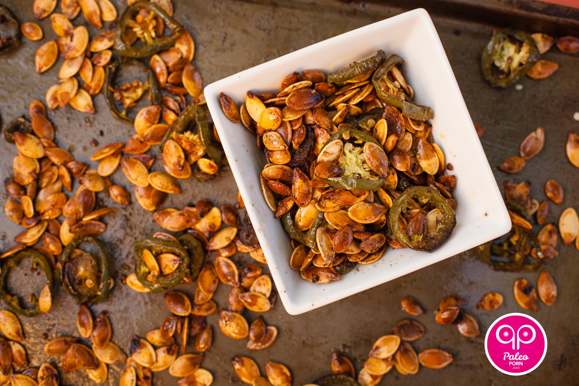 Jalapeno Paleo Pumpkin Seeds