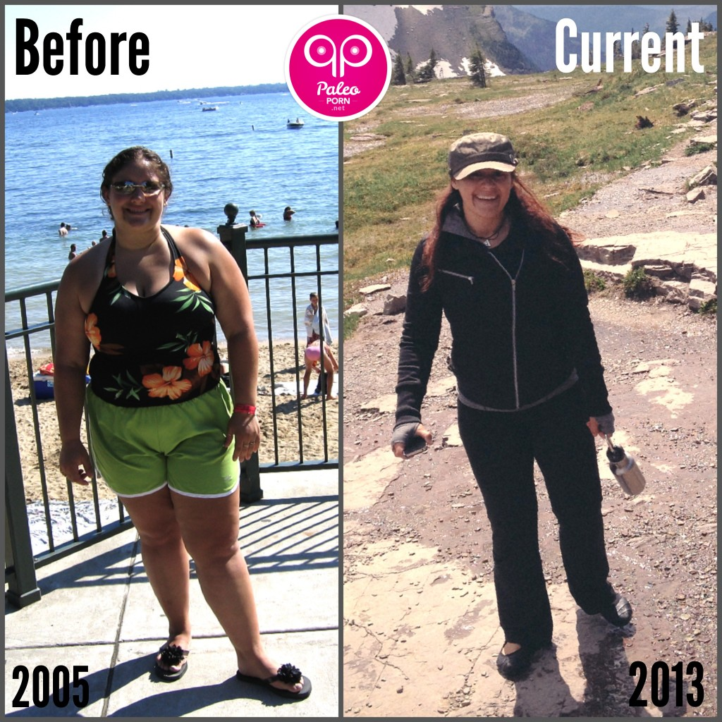 Marla Sarris Paleo Before and Current