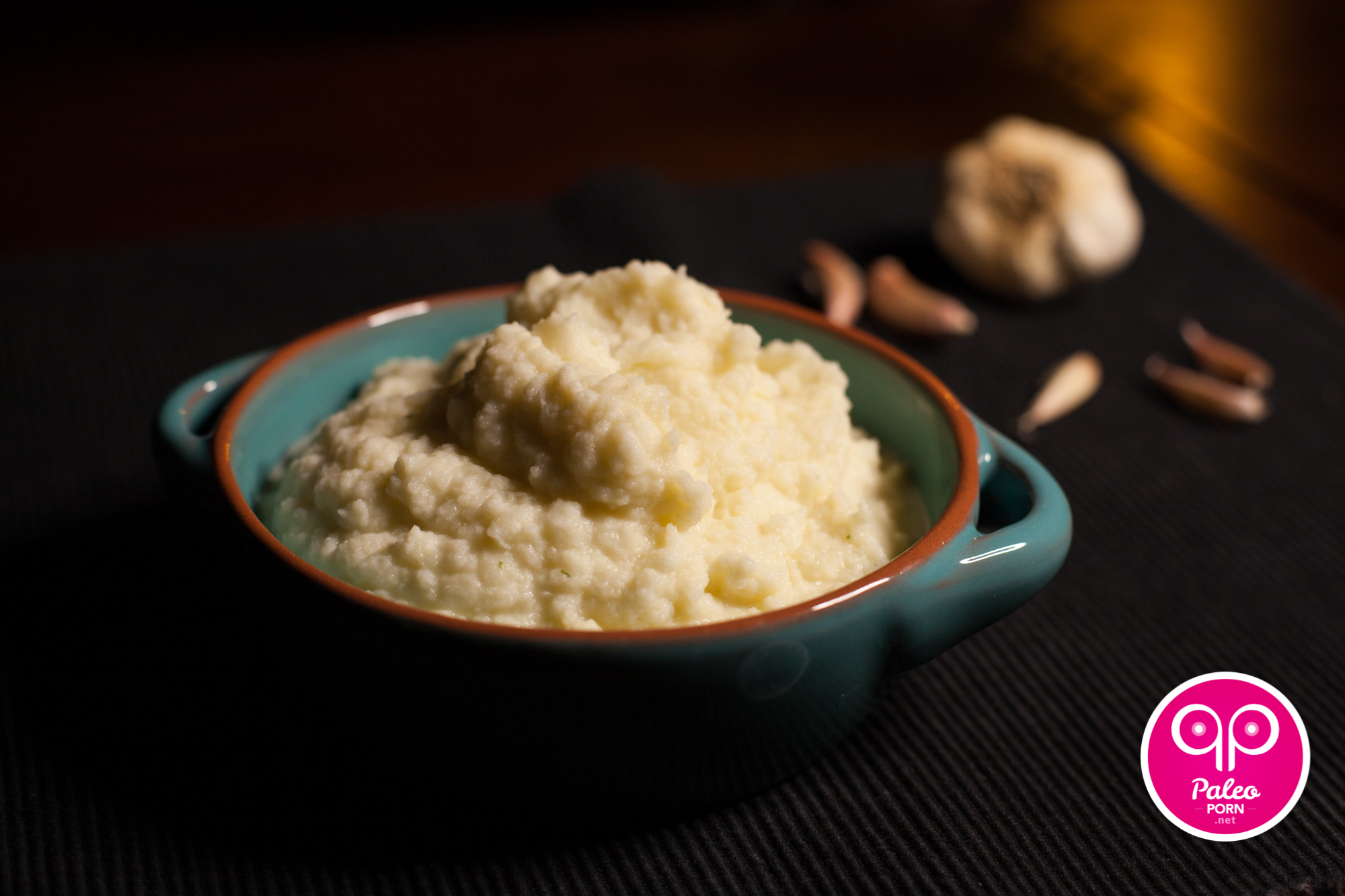 served this Paleo Garlic Mashed Cauliflower with Pot Roast a few ...